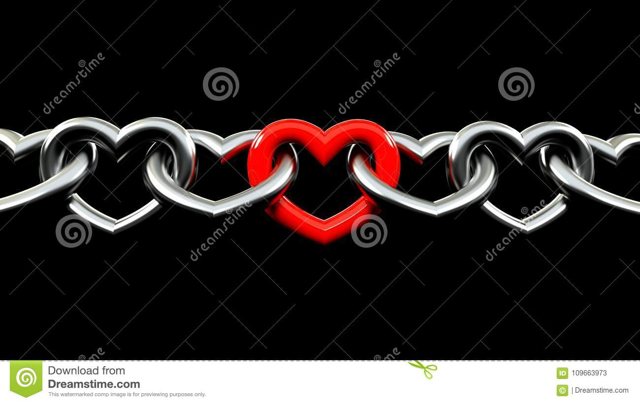 Amour Intense Illustration Stock Illustration Du Garantie