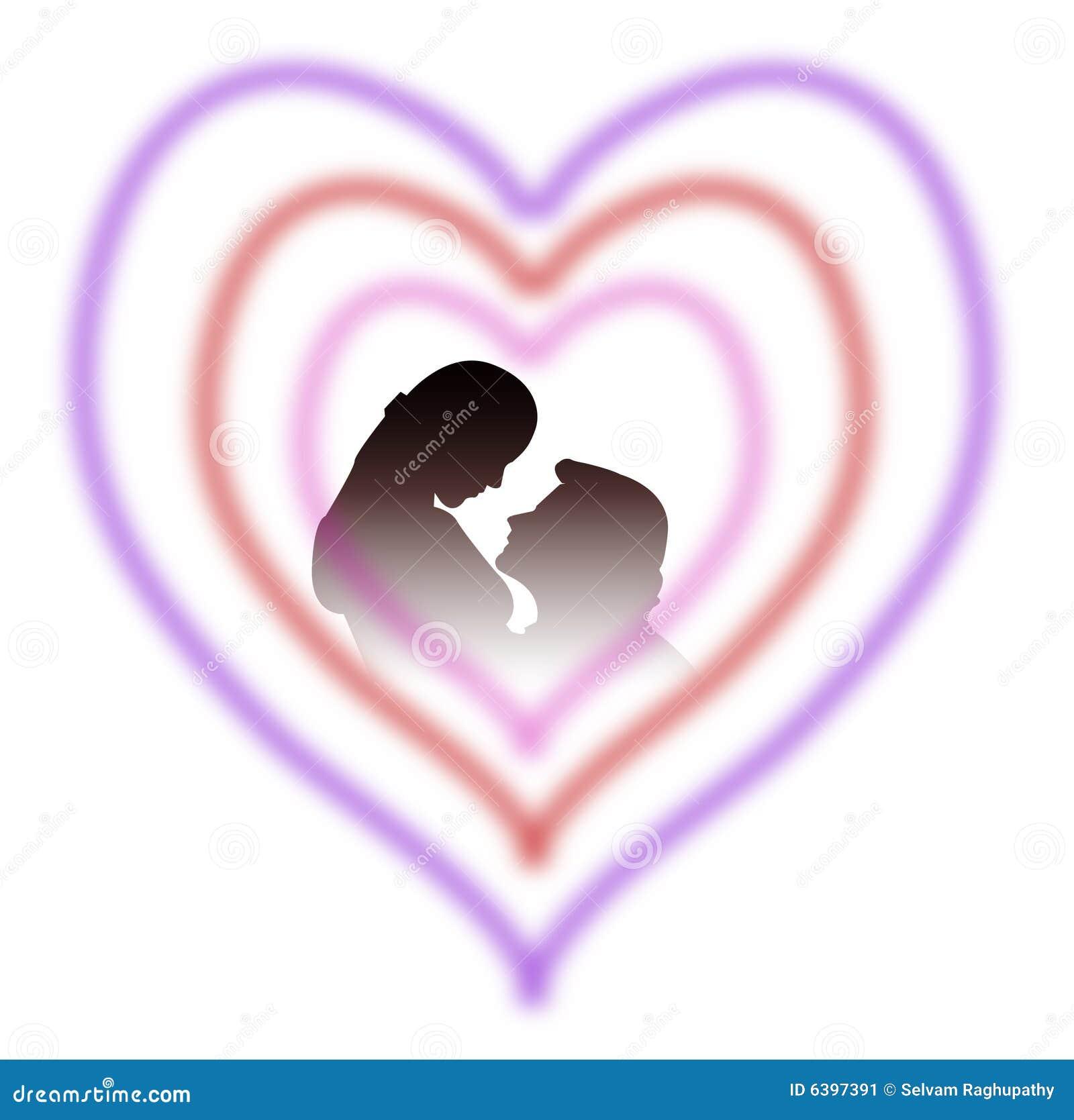 Amoureux de coeur image stock image 6397391 - Coeurs amoureux ...