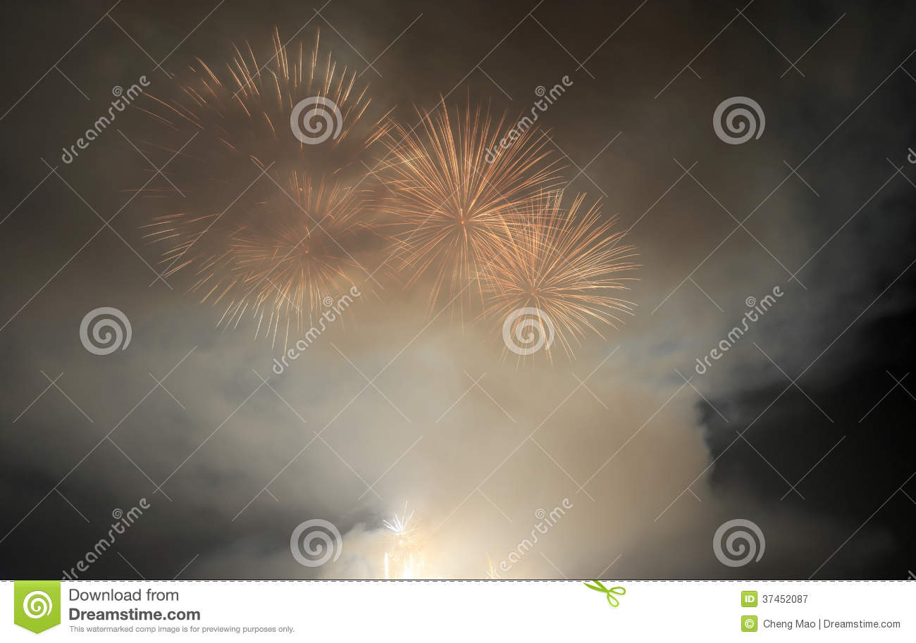Download Amoy city play fireworks stock image. Image of games - 37452087