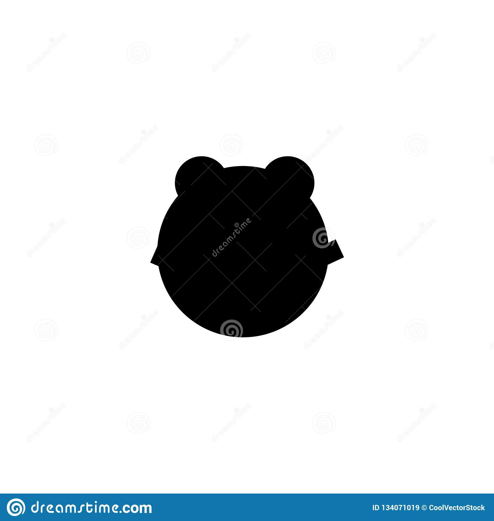 Amphibian icon vector sign and symbol isolated on white background, Amphibian logo concept