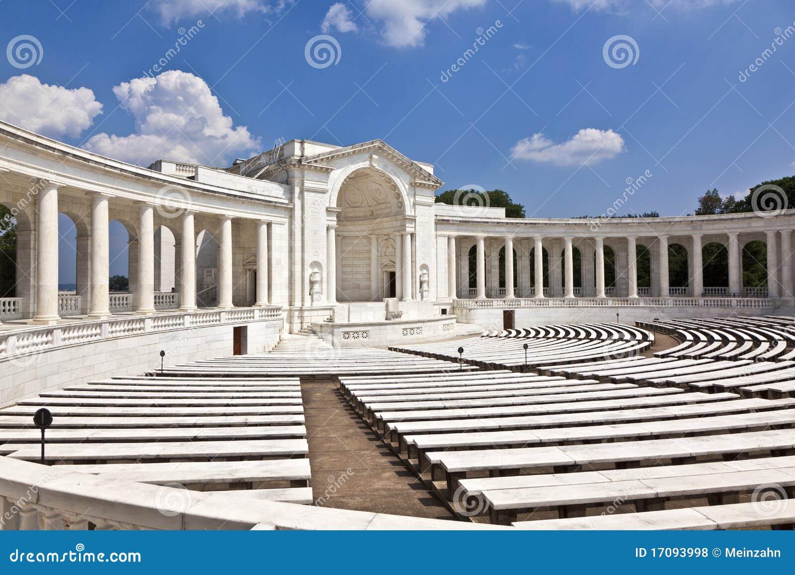 Amphithéâtre commémoratif au cimetière d Arlington