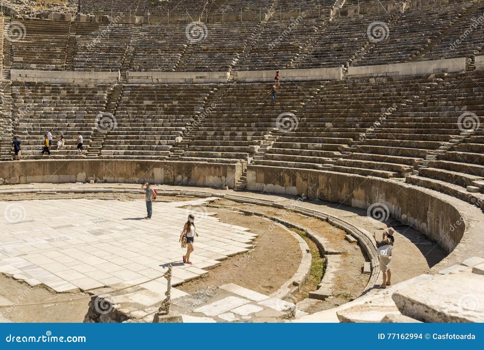Amphithéâtre de ville antique d Ephesus