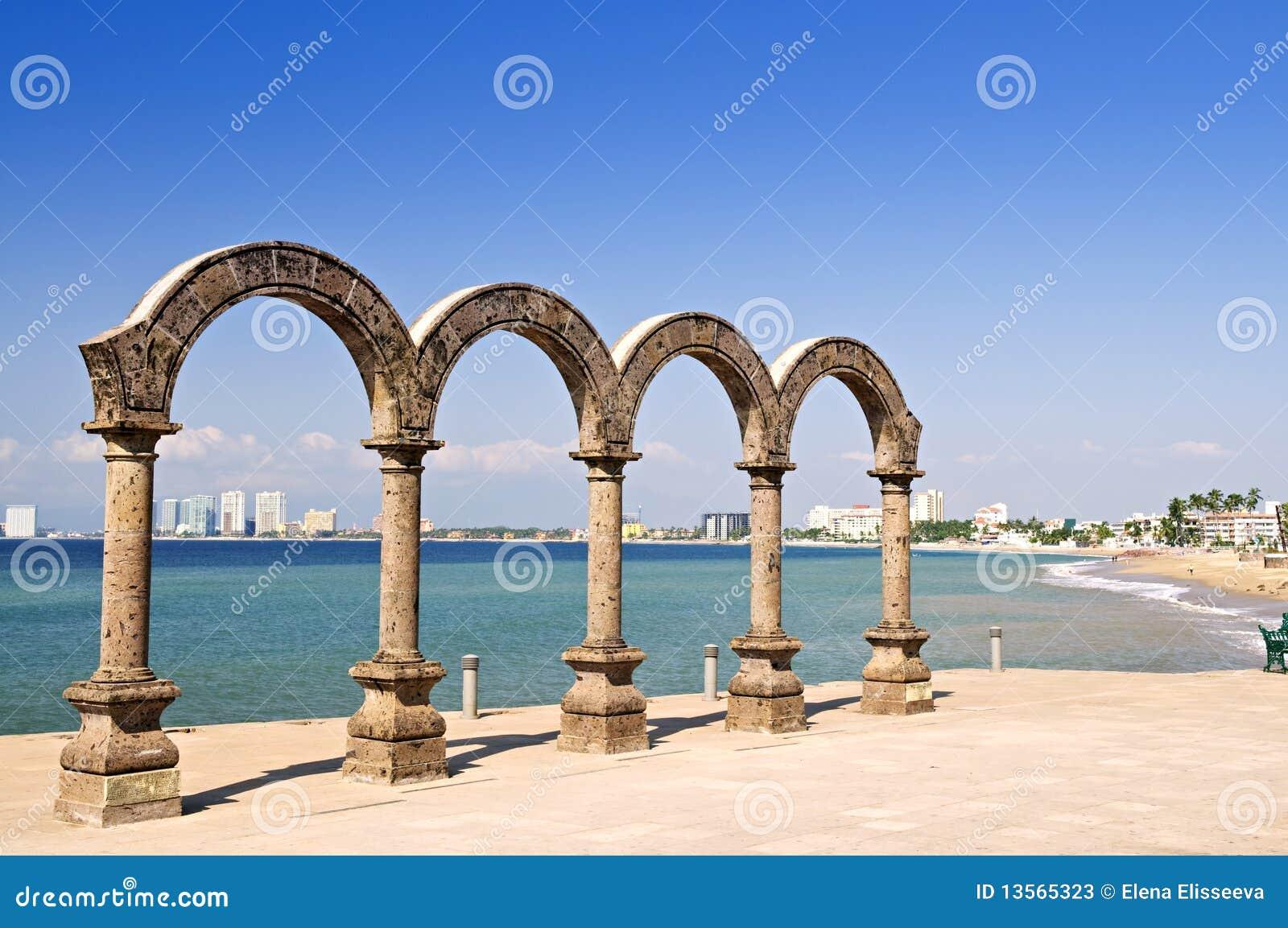 Amphitheater di Los Arcos in Puerto Vallarta, Messico
