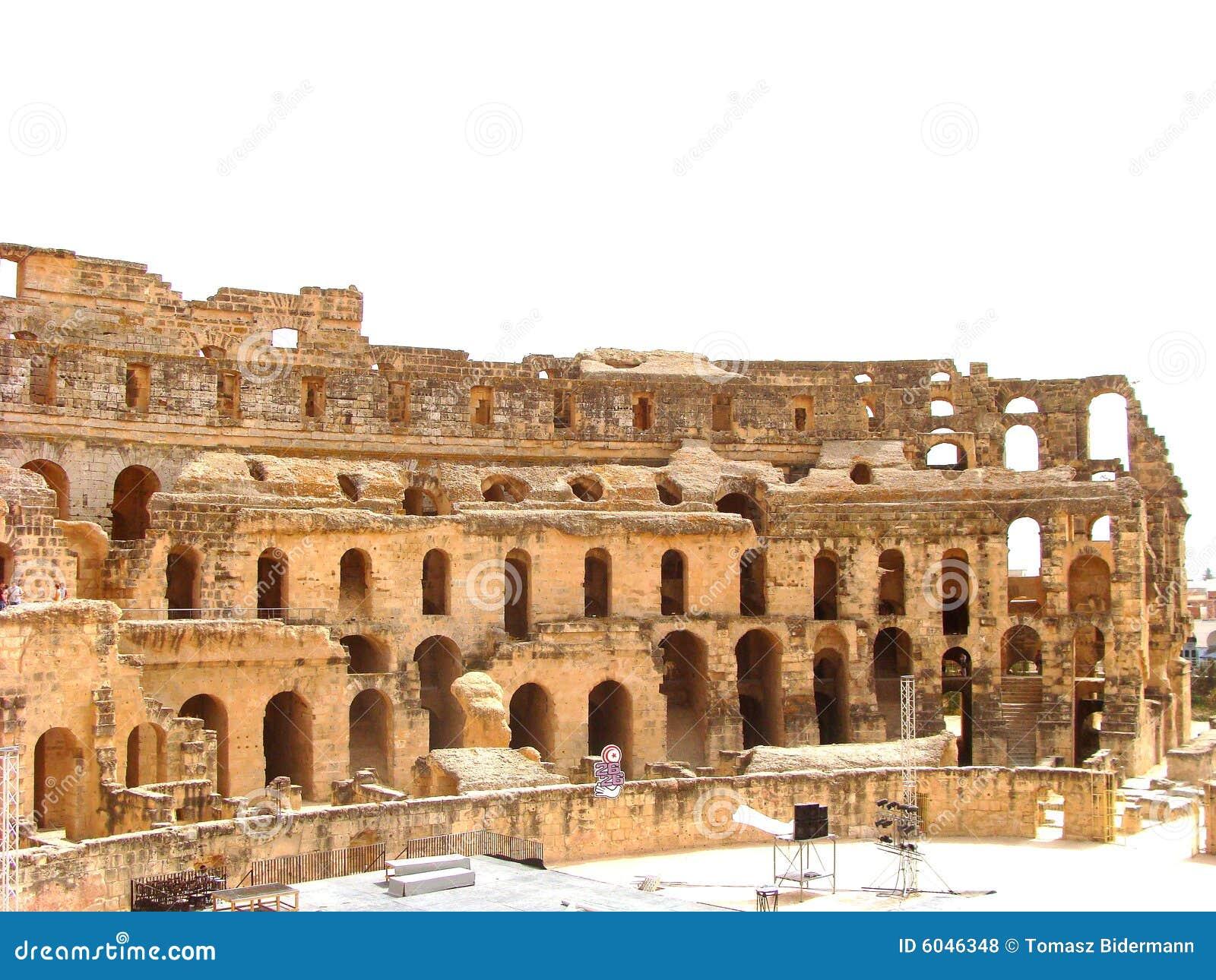 Amphitheatre do EL Djem
