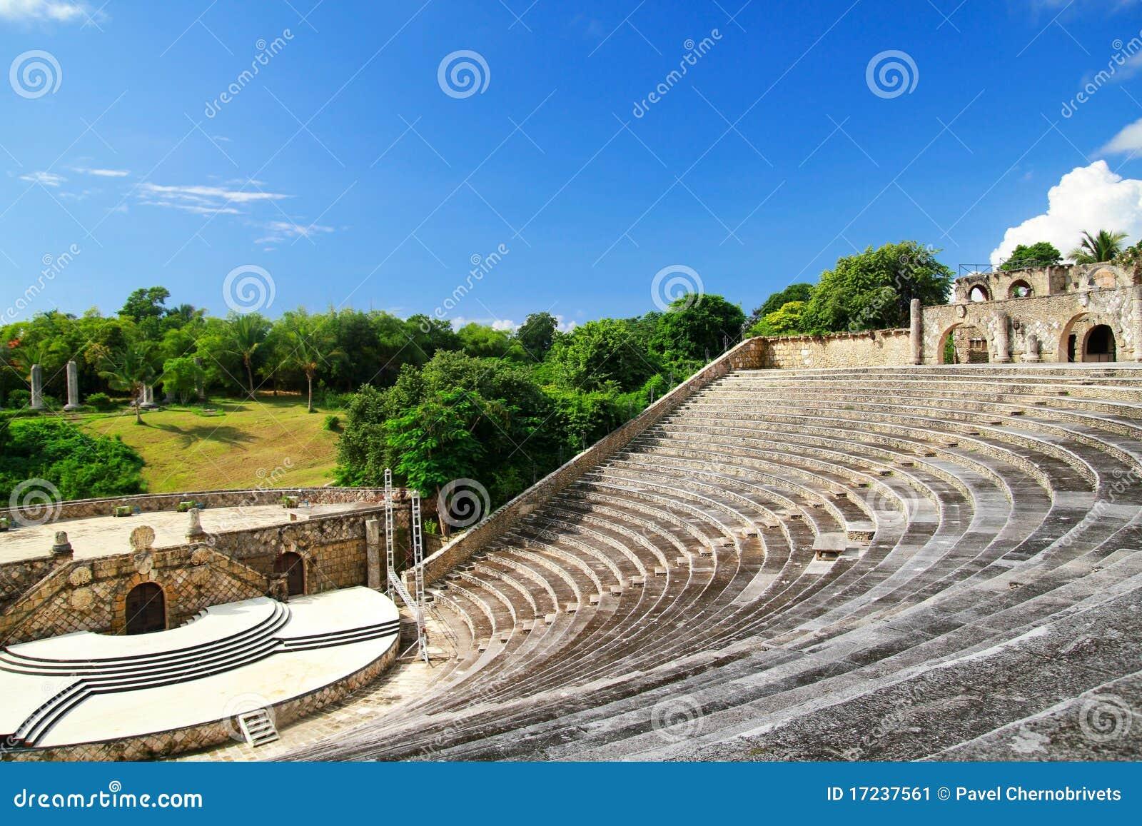 Amphitheatre em Alto de Chavon