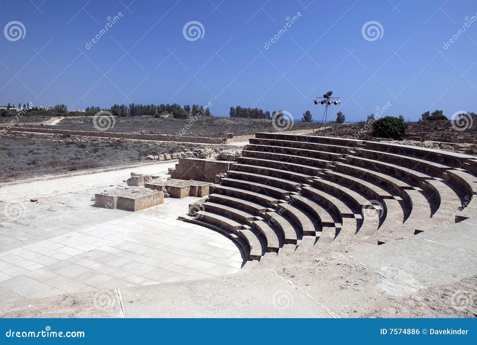 Amphitheatre em Paphos