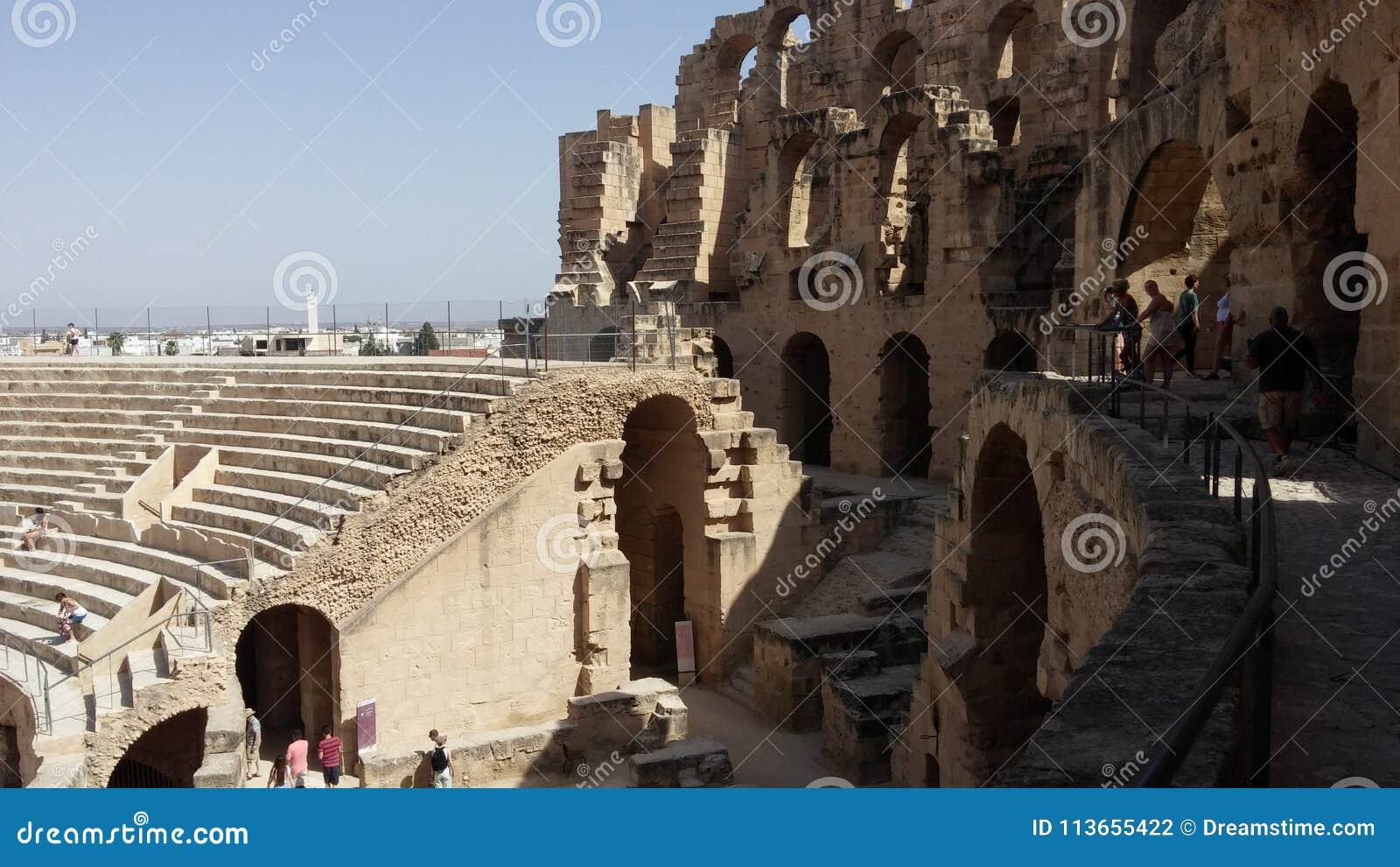 Amphitheatre od El Djem, Tunis