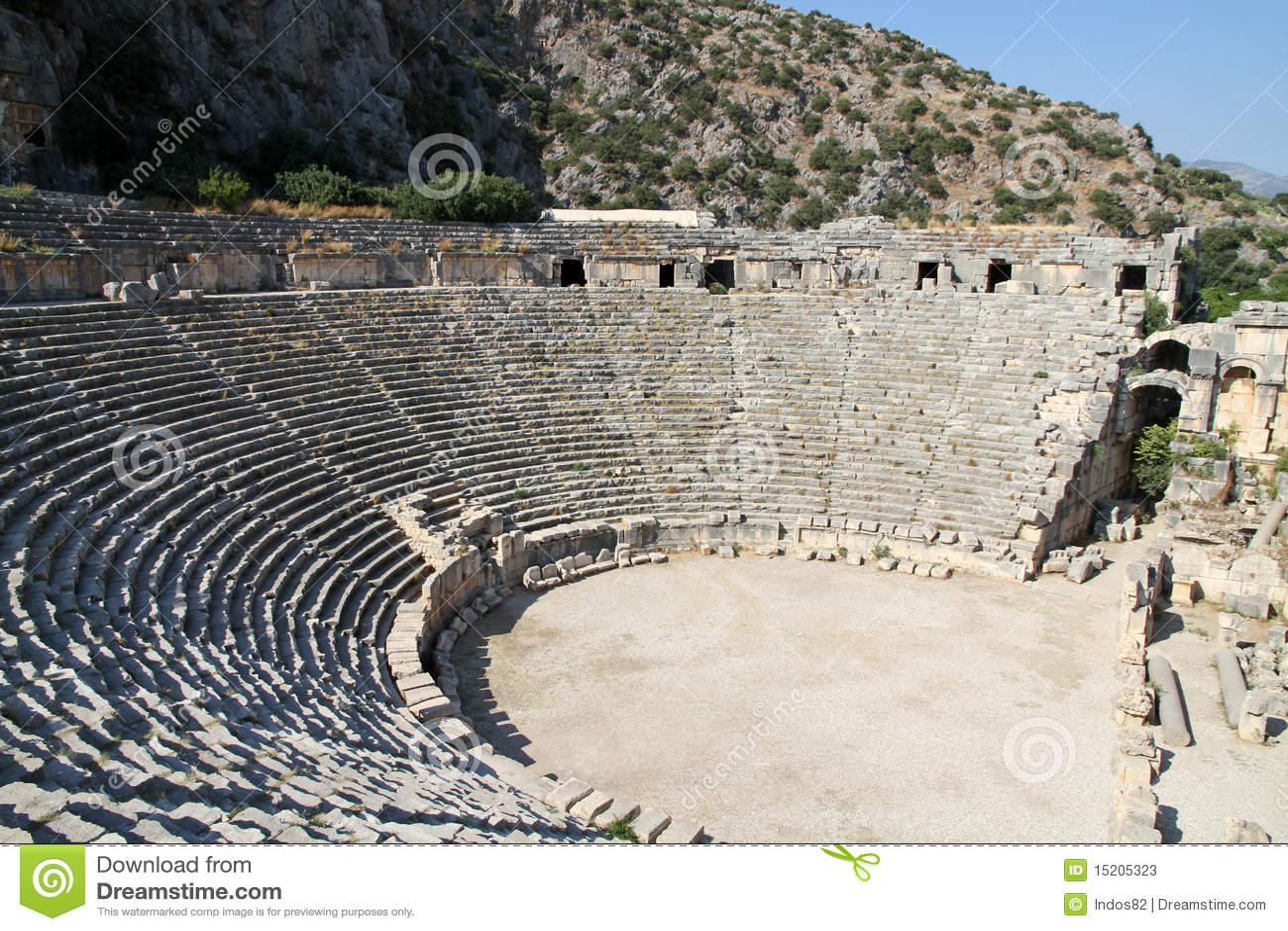 Amphitheâtre romain