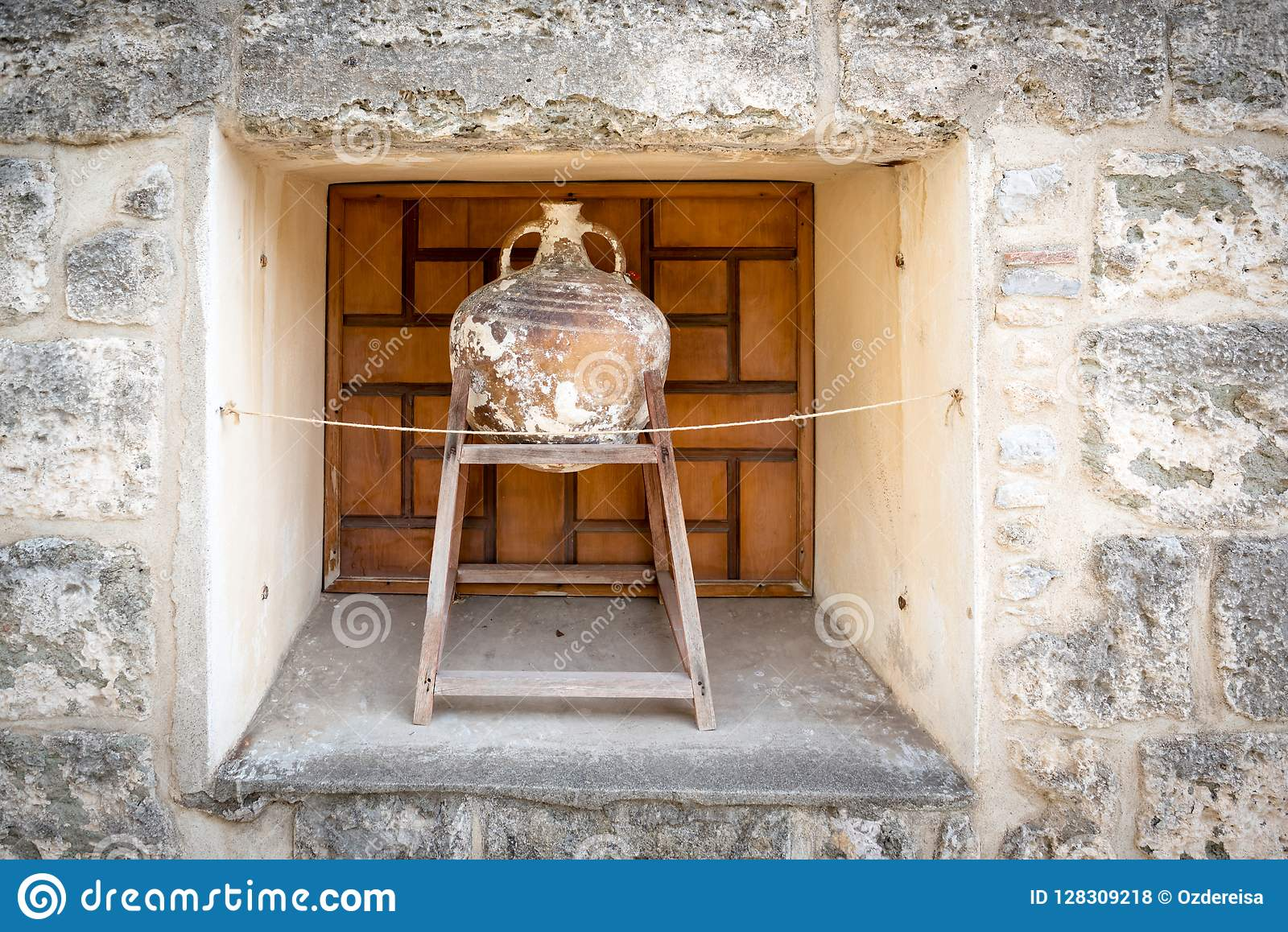 Amphora inside of Castle of St. Peter or Bodrum Castle