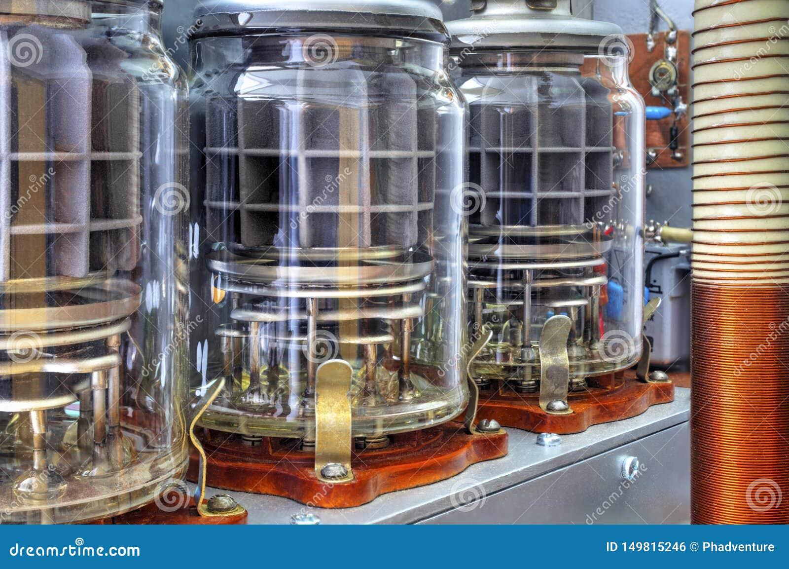 Amplificador de potência da onda curta dos tubos de vácuo