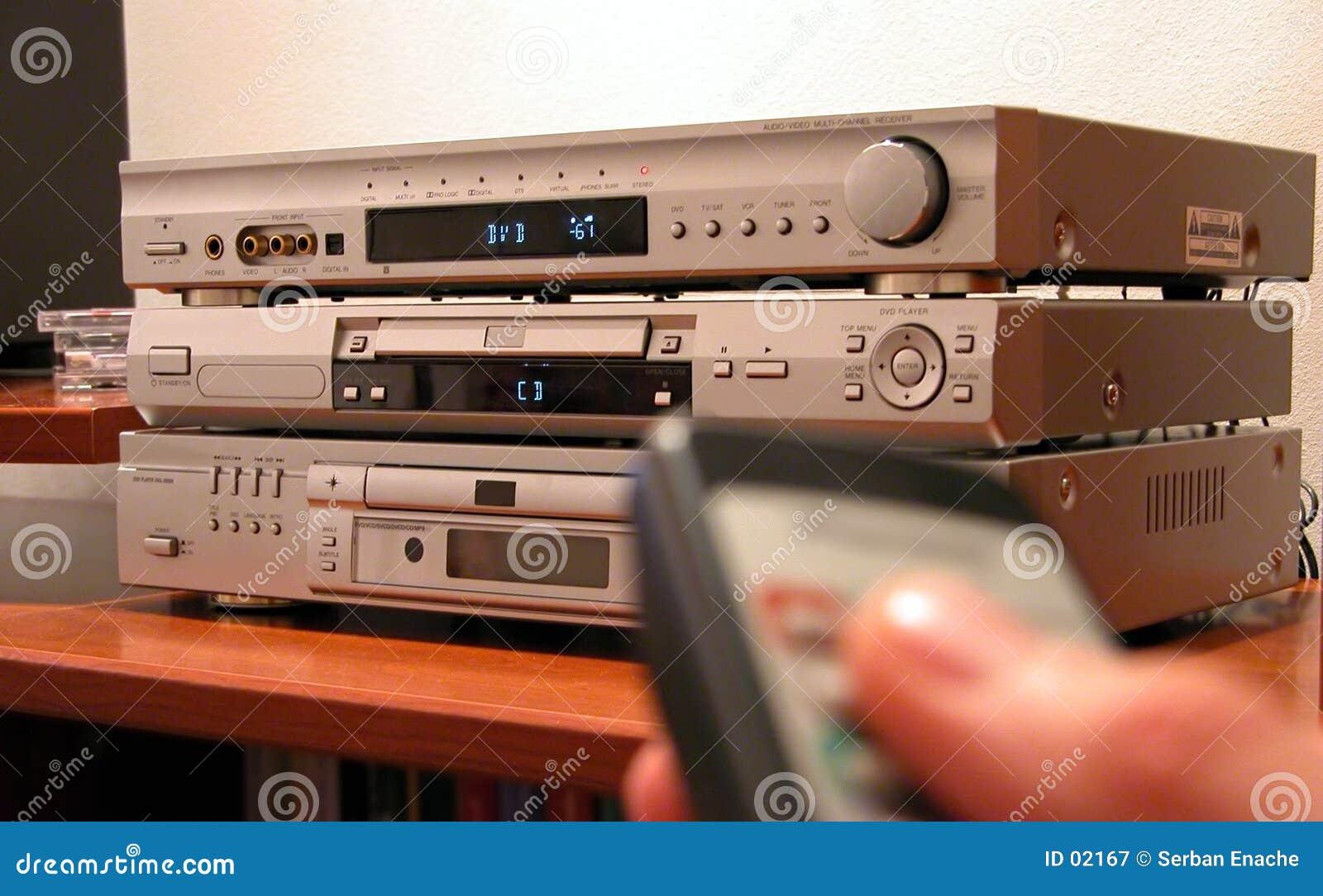 Amplificador e telecontrole 2