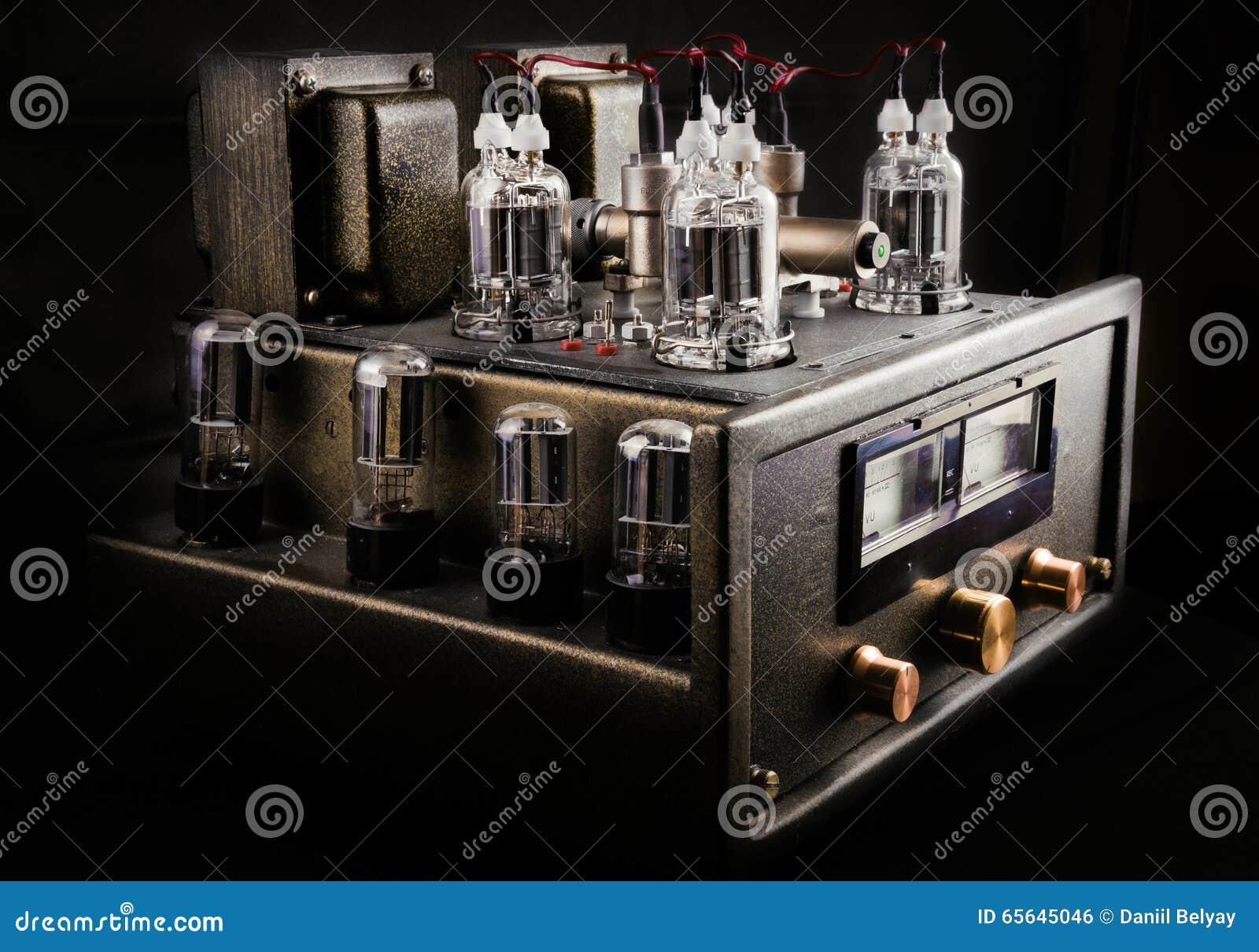 Amplificateur fait main de tube