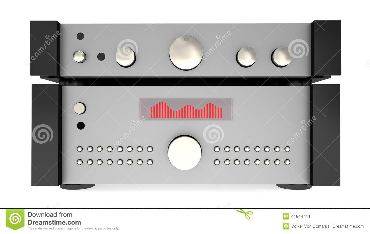 Amplifier Stock Illustration - Image: 41844411