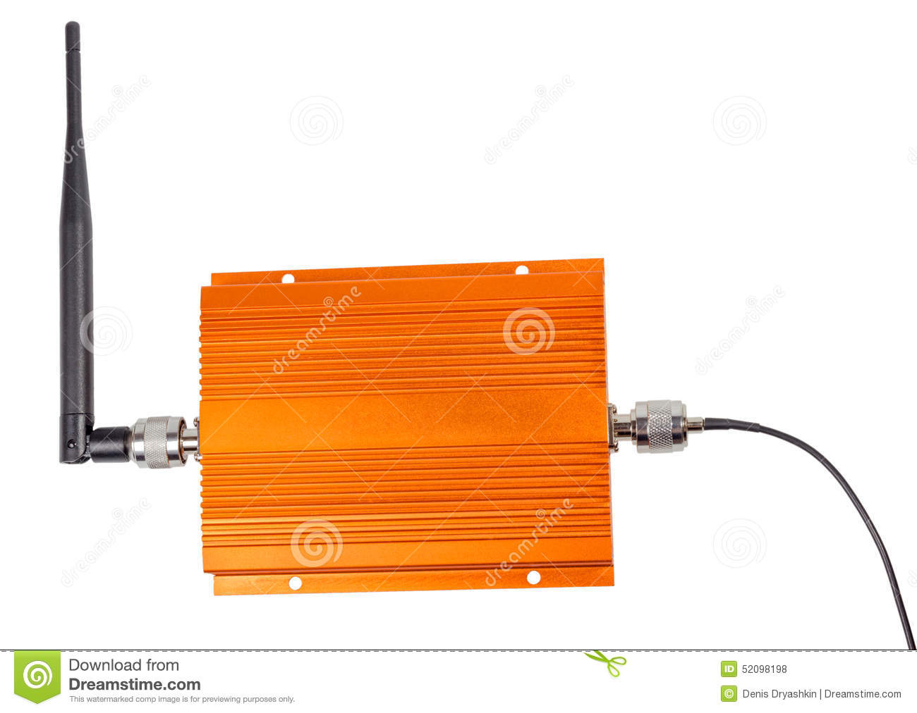 Amplifying Signal Repeater For GSM Cellular Phone Stock