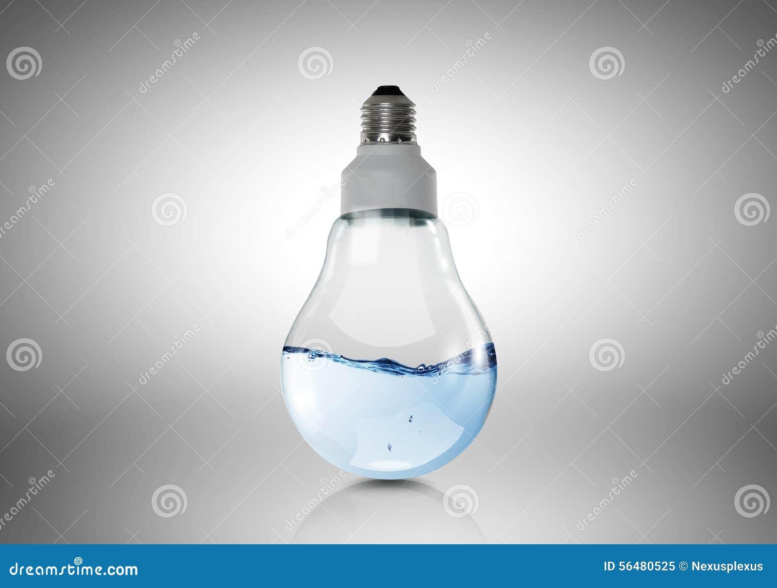 Ampoule avec de l eau