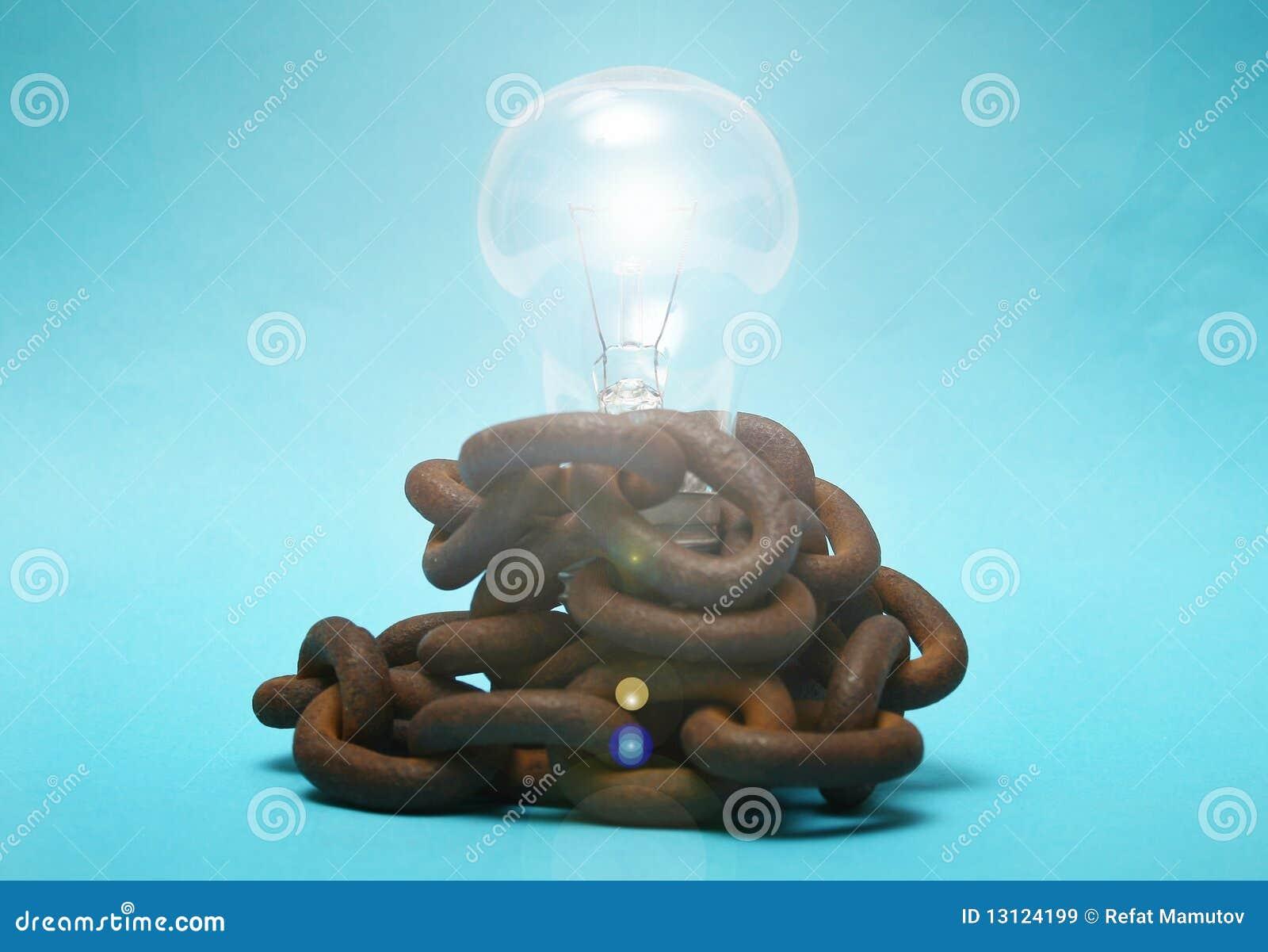 Ampoule et circuits.