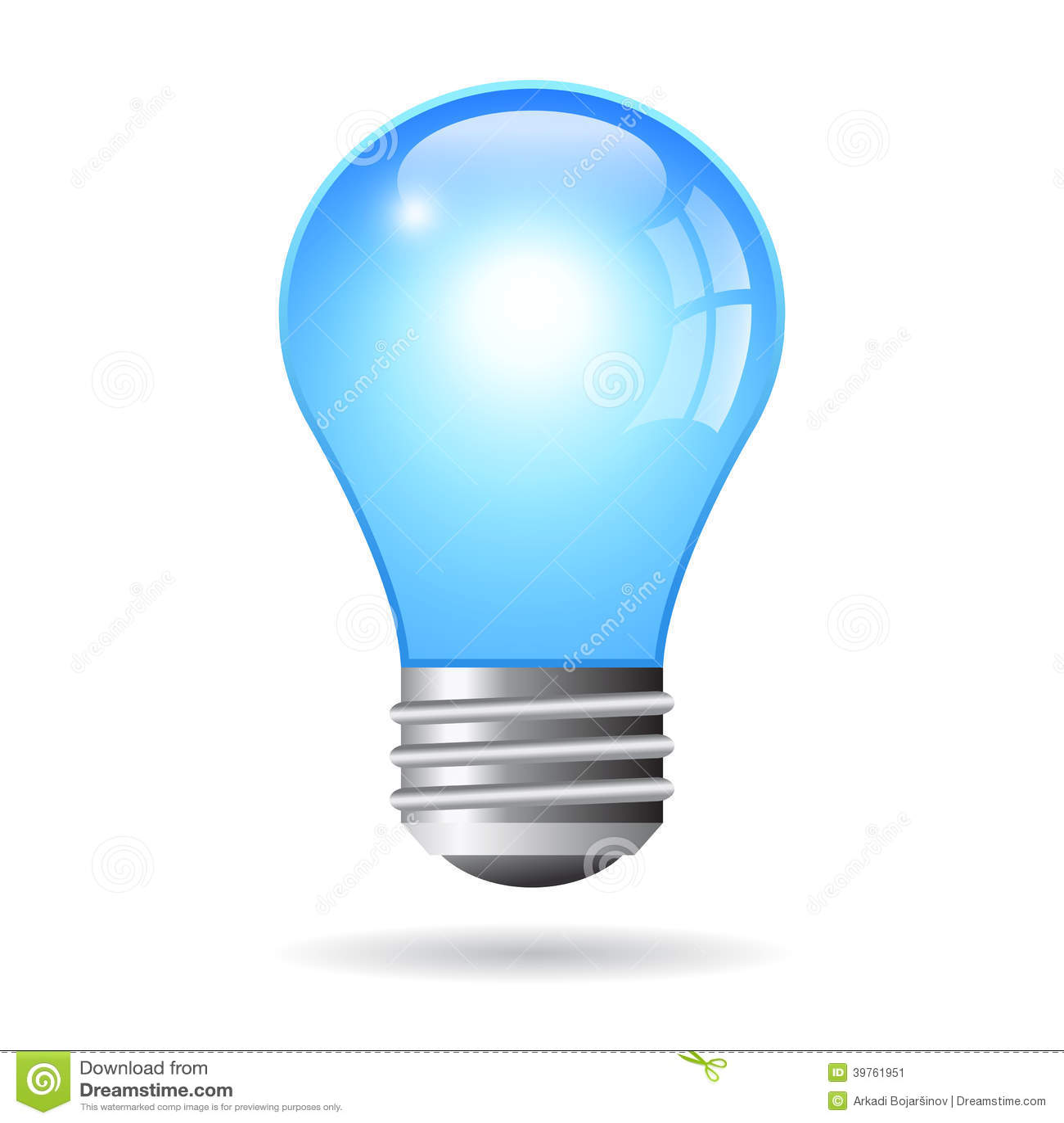 ampoule lectrique de vecteur illustration de vecteur image 39761951. Black Bedroom Furniture Sets. Home Design Ideas