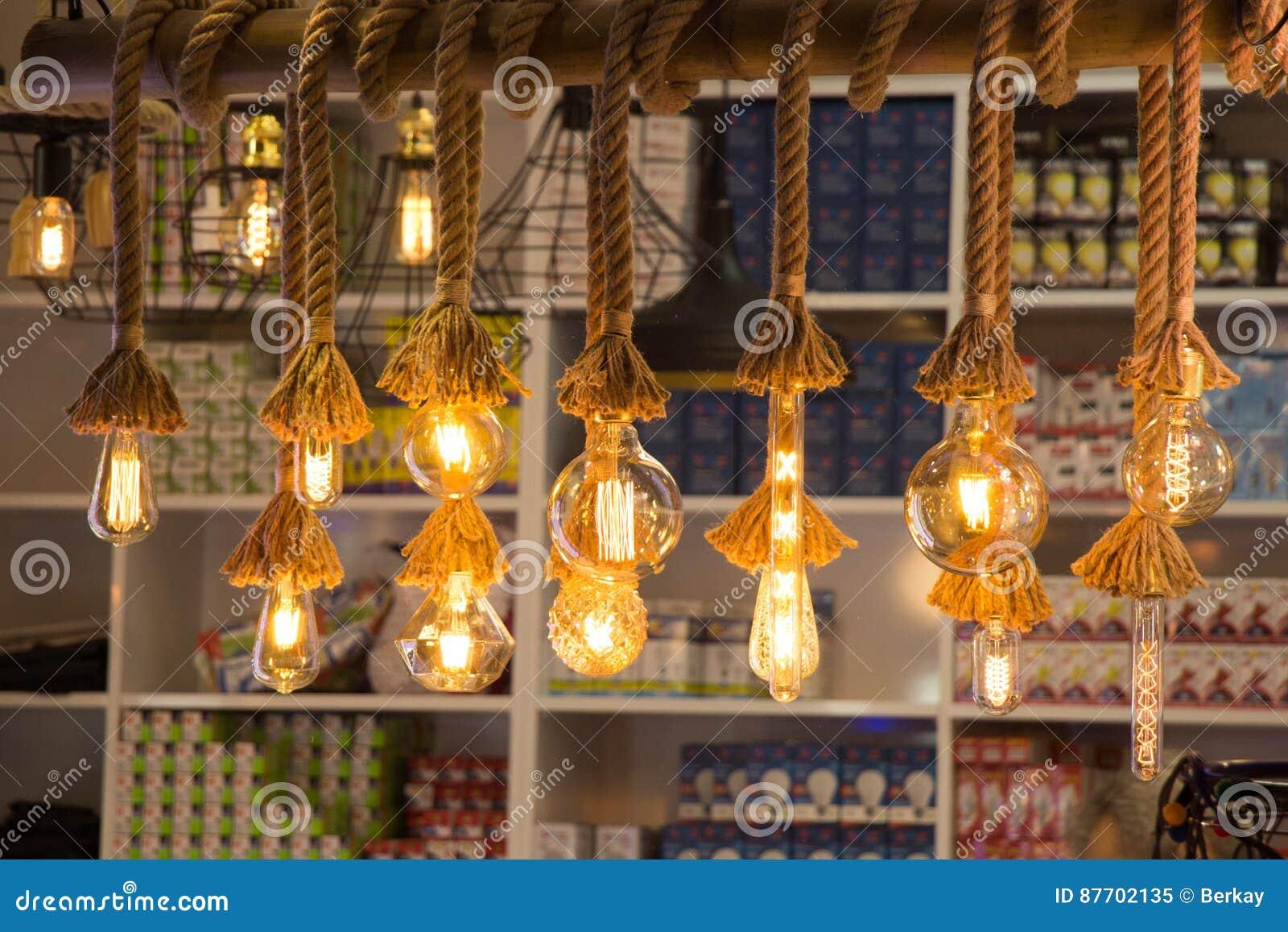 Ampoules d edison de filament antique décoratif de style