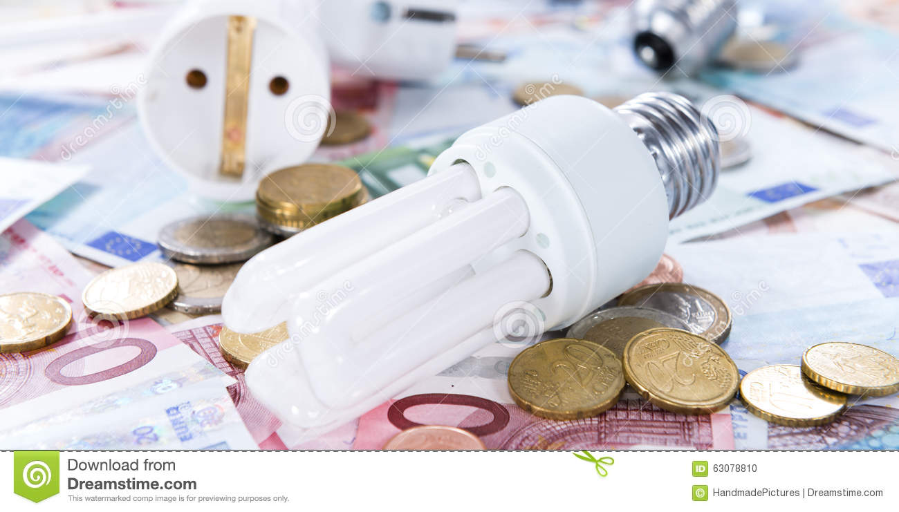 Download Ampoules Sur Des Billets De Banque Photo stock - Image du cash, financier: 63078810