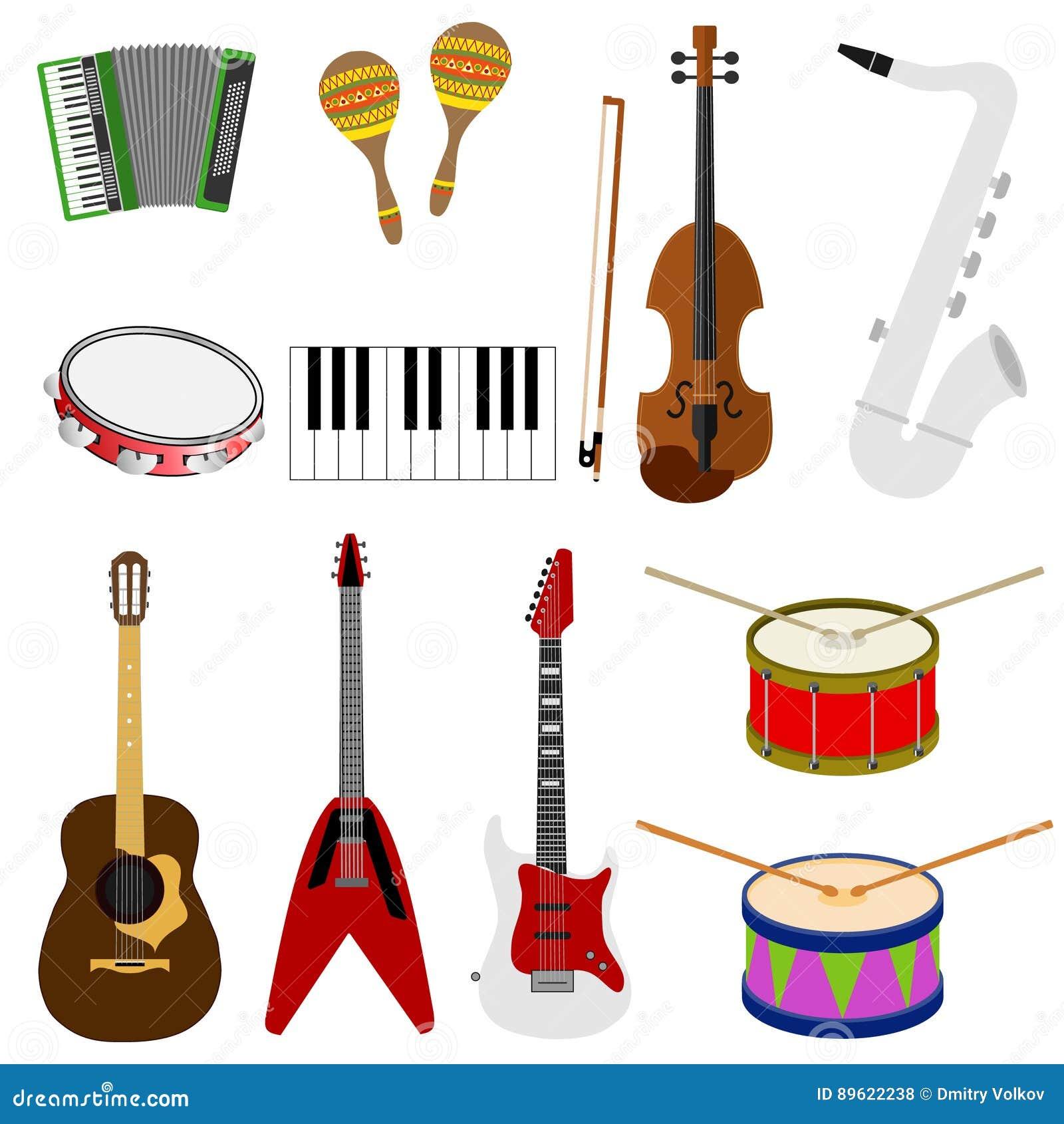 Ampuła ustawiająca instrumenty muzyczni