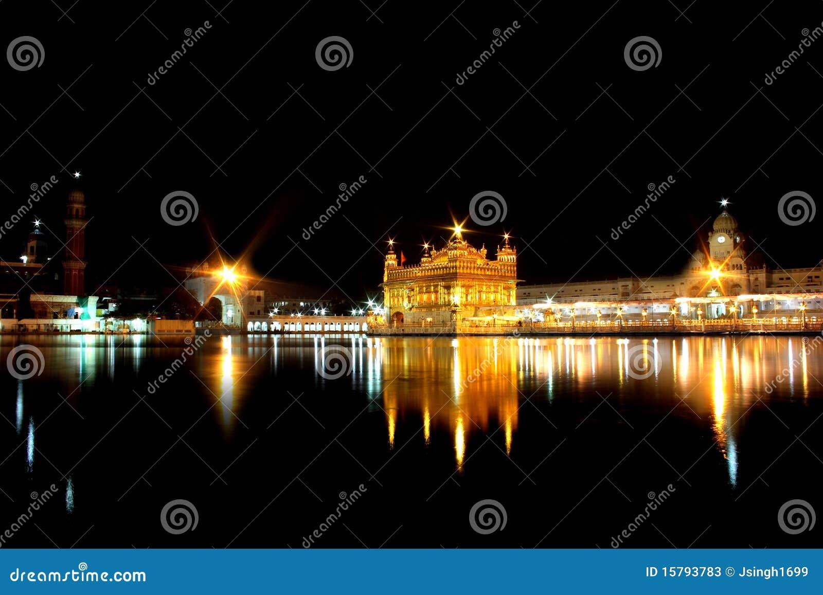 Amritsar χρυσός ναός της Ινδίας Punjab