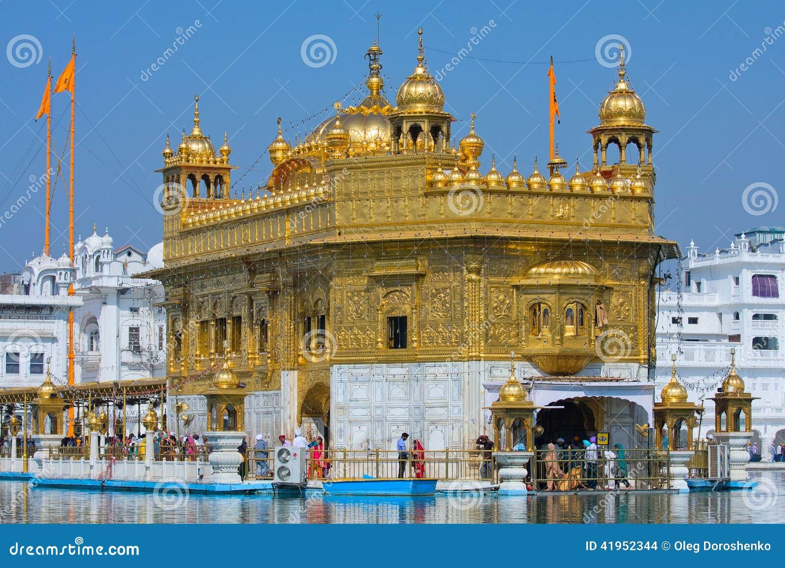 Amritsar indu Punjab złota świątynia