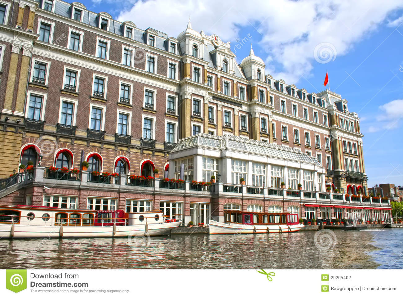 Amstel hotel in amsterdam stock photography image 29205402 - Amstel hotel amsterdam ...