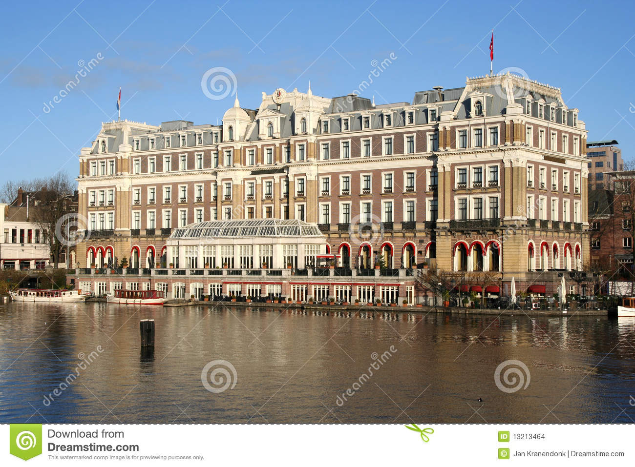 Amstel Hotel In Amsterdam Holland Stock Images Image