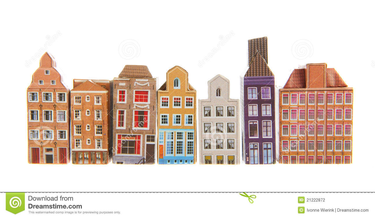 Amsterdam Stock Photo Image Of Background Homes Typical