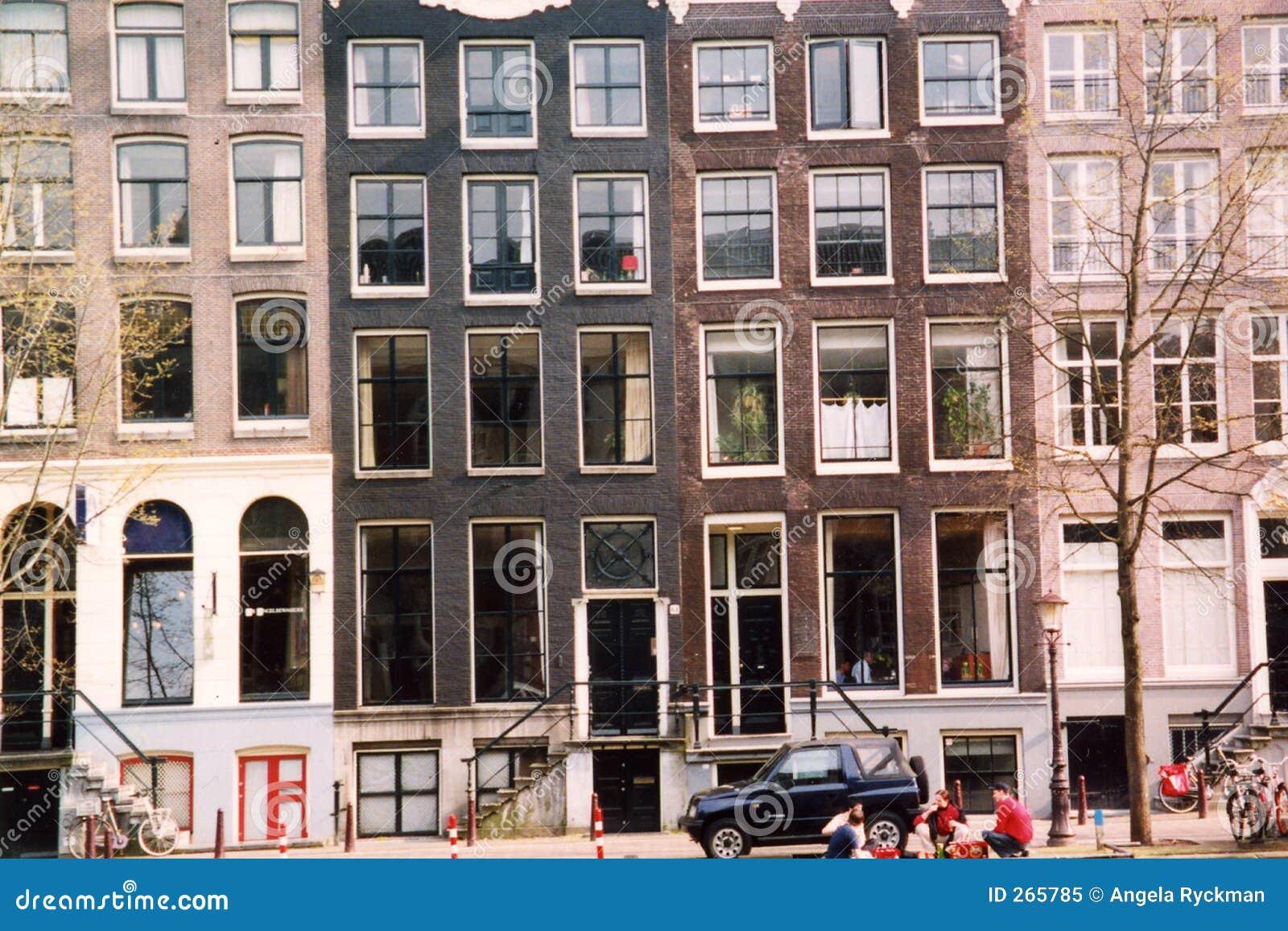 Amsterdam 3 budynku.