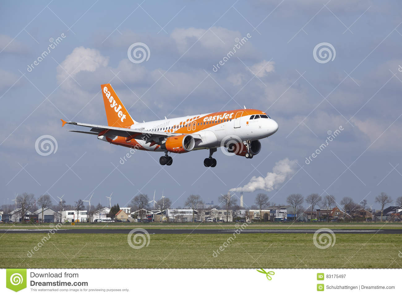 Amsterdam Airport Schiphol - Easyjet Amsterdam Livery Airbus