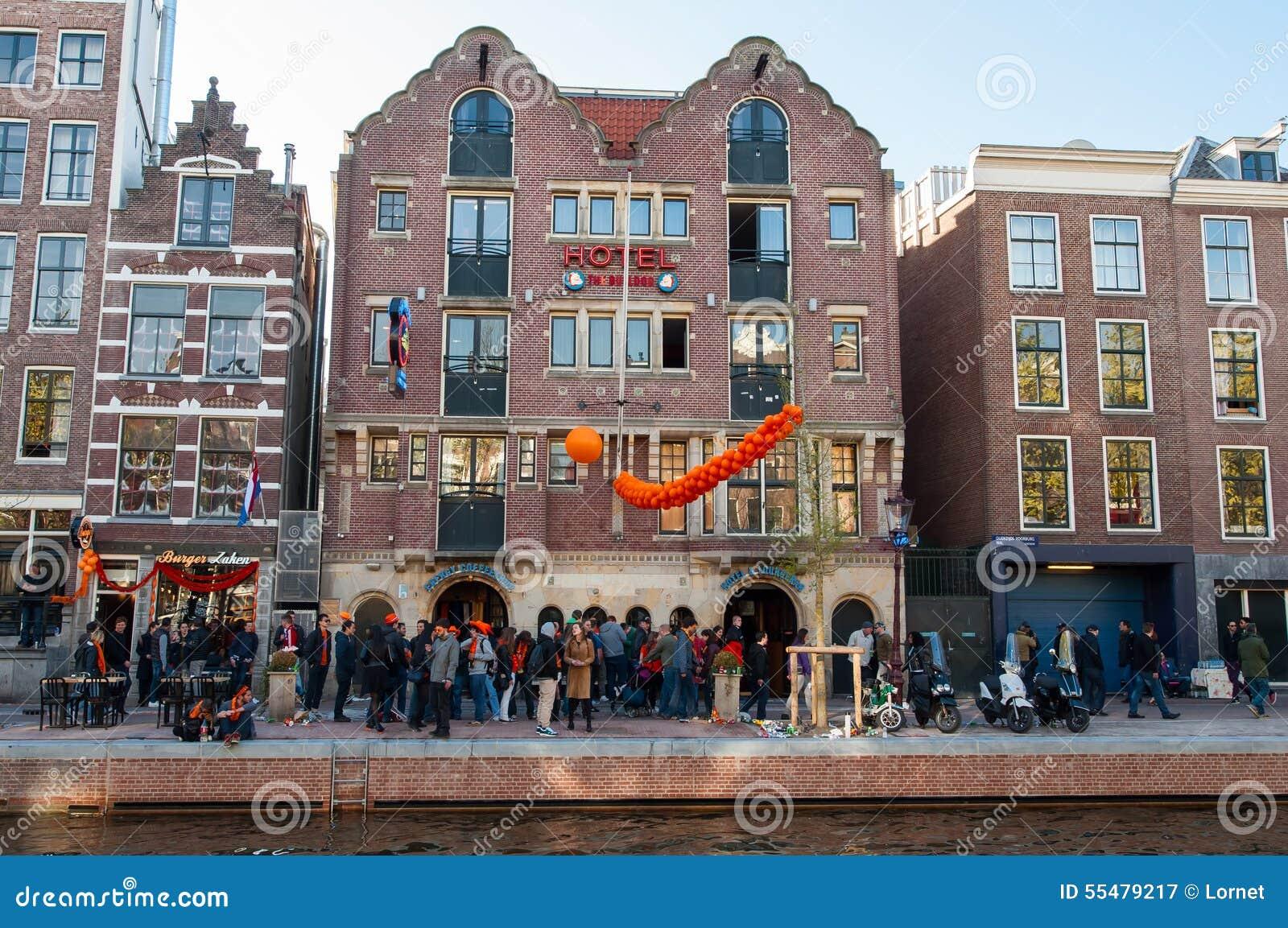 Amsterdam April 27 Famous Amsterdam Bulldog Coffeeshop