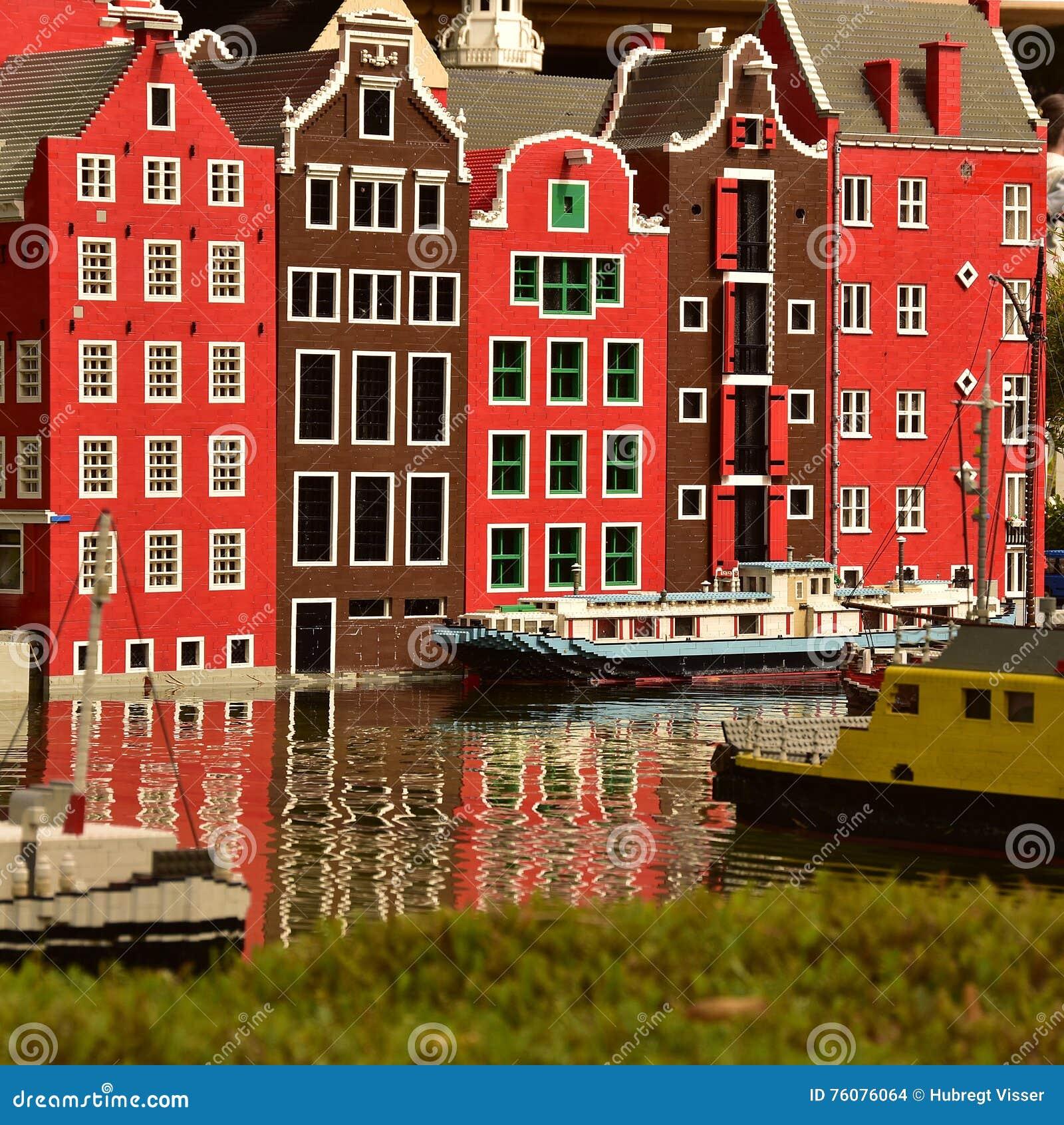 Amsterdam dans Lego