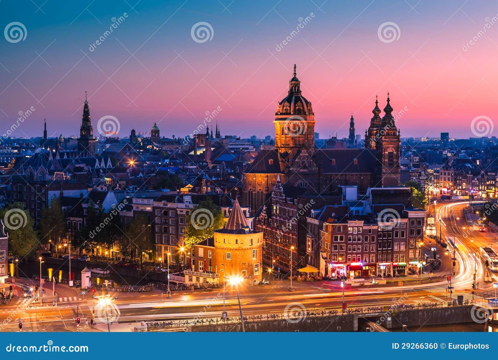 Amsterdam, die Niederlande