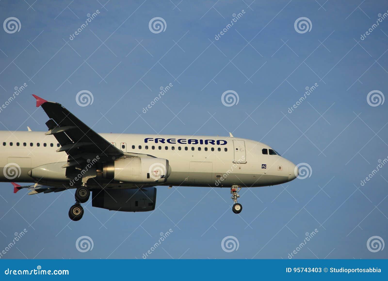 Amsterdam Die Niederlande 7 Juli 2017 Tc Fbr Freebird Airlines