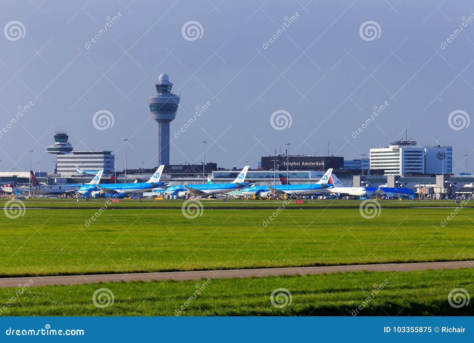 Amsterdam flygplats Schiphol, Nederländerna