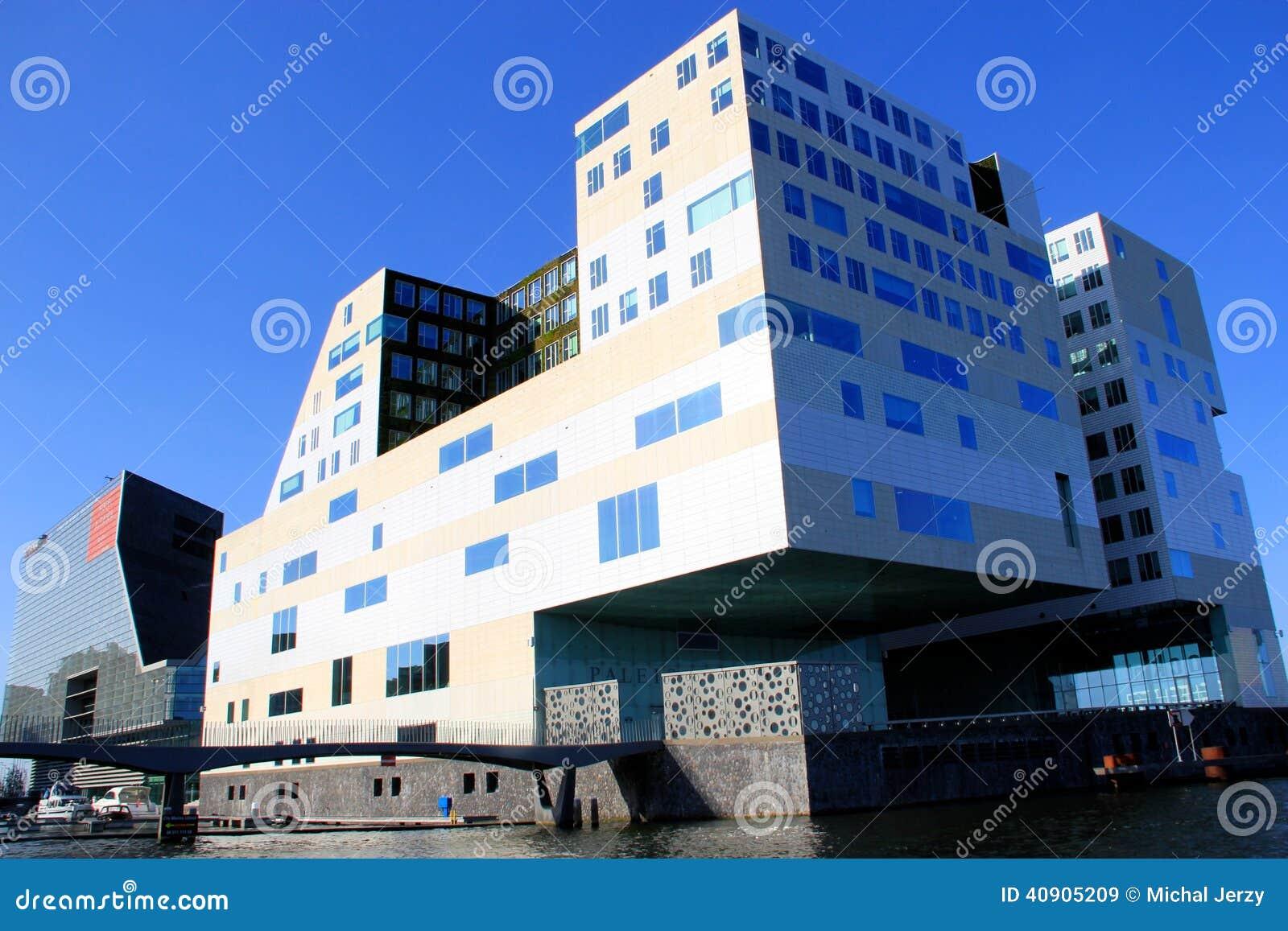 Amsterdam, Holland, Moderne Architektur Und Design Redaktionelles ...