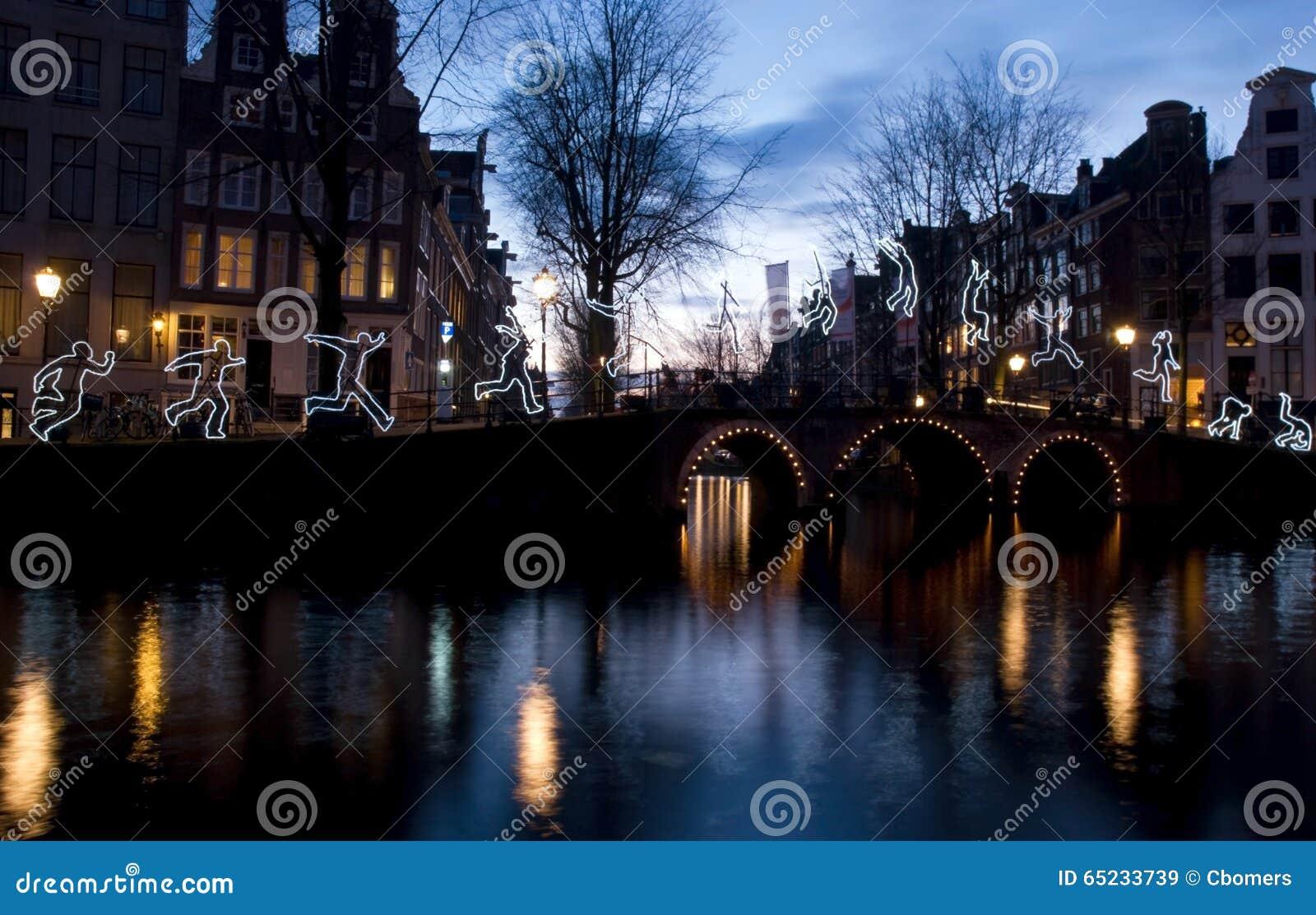 Licht Tour Amsterdam : Amsterdam licht festival redaktionelles stockbild bild von