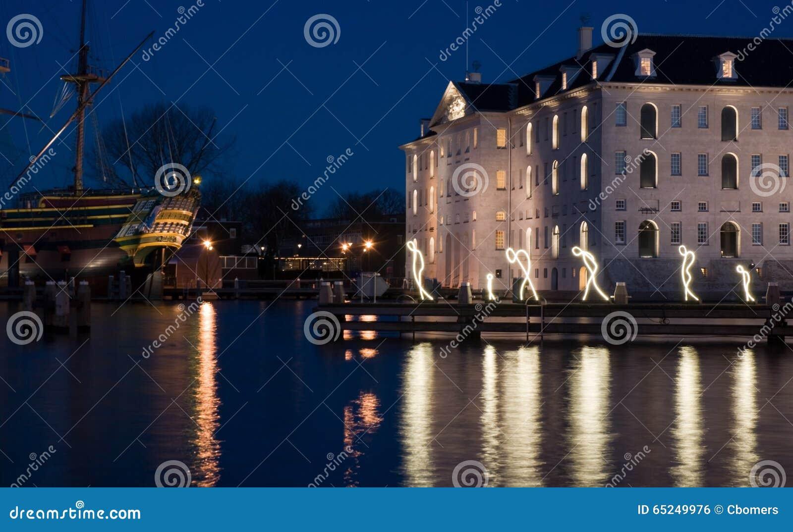 Licht Tour Amsterdam : Amsterdam licht festival redaktionelles foto bild von