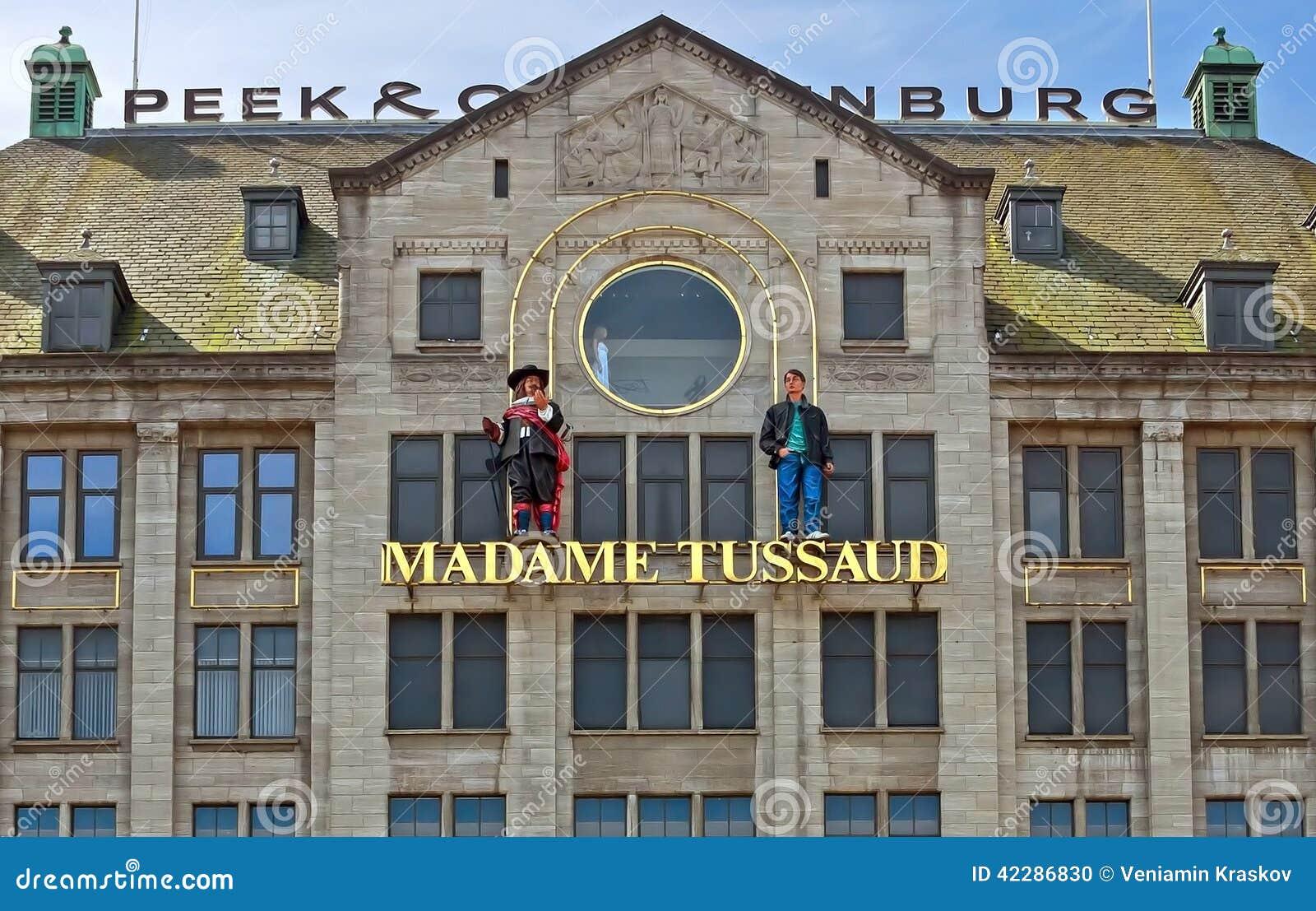 amsterdam museo della cera di signora tussauds immagine