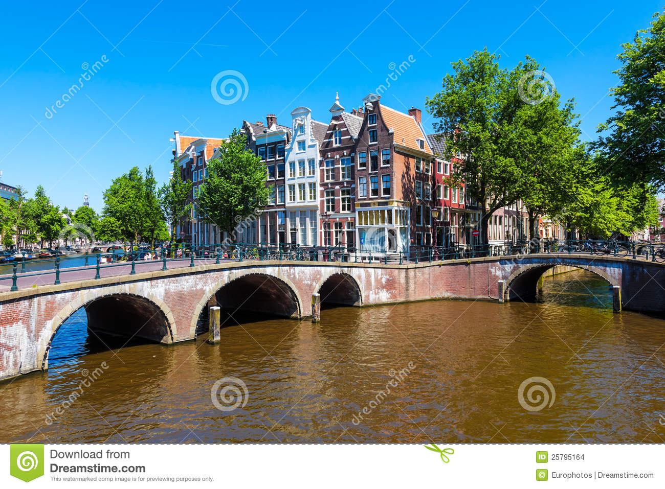 Download Amsterdam, the Netherlands stock photo. Image of europe - 25795164