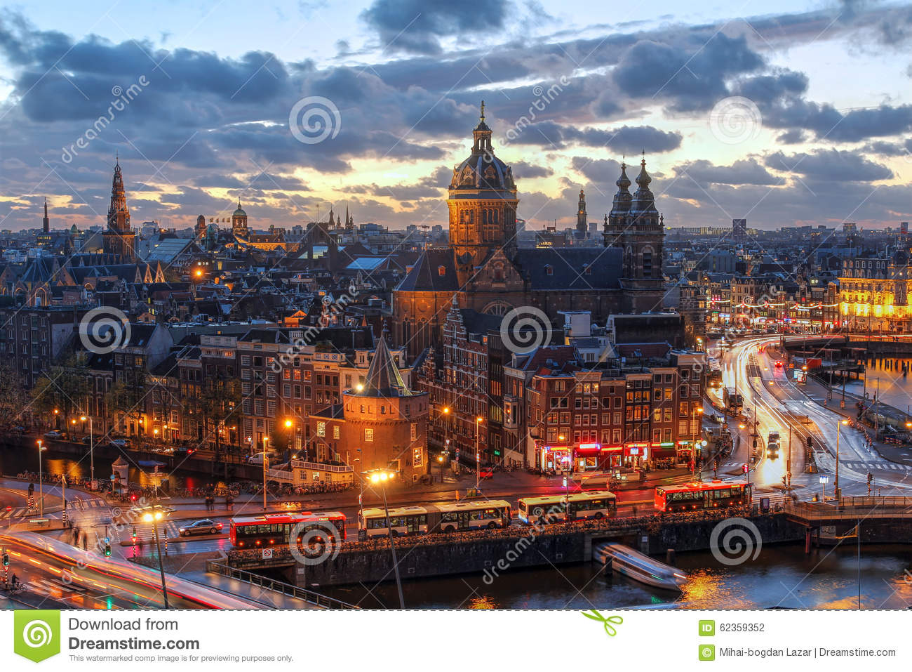 Download Amsterdam, Netherlands stock photo. Image of nicholas - 62359352