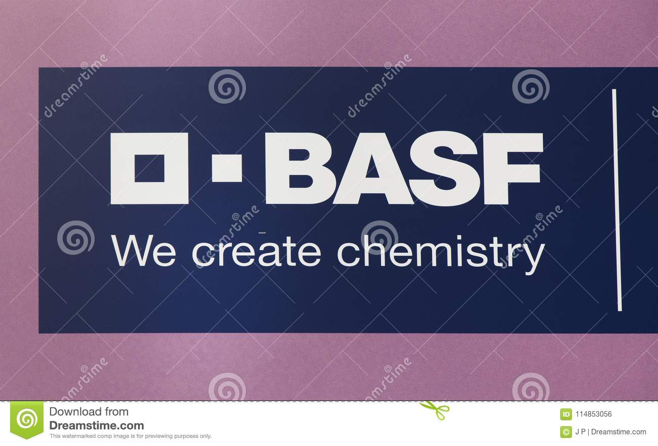 Basf Chemical Company Editorial Photo Image Of Sign 114853056