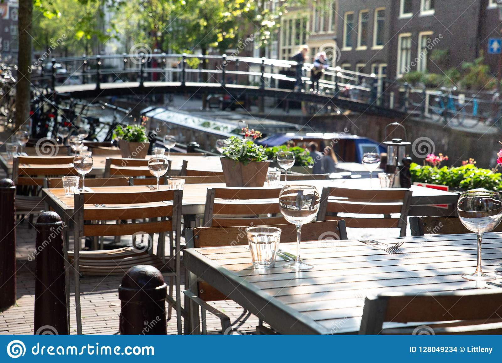 Amsterdam Outdoor Restaurant Dining Tables