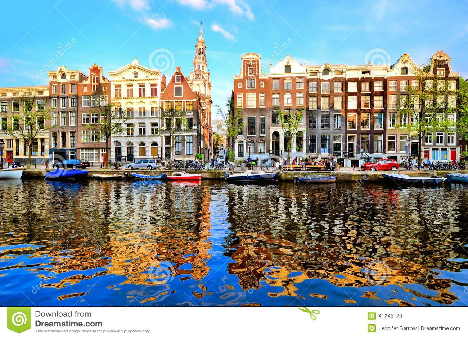 Amsterdam reflexioner
