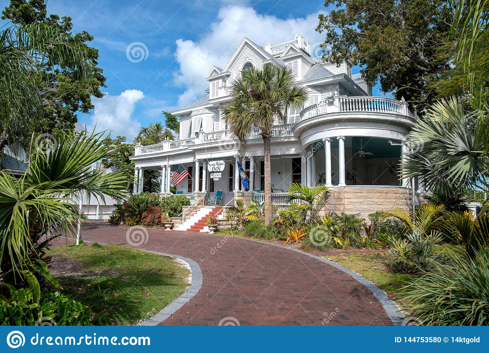 Amsterdam`s Curry Mansion Inn in Key West