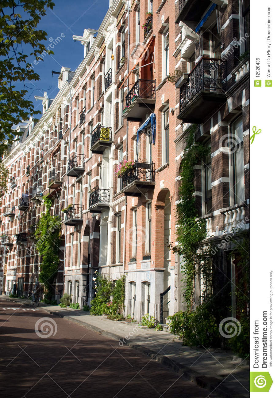 Amsterdam Street Royalty Free Stock Image Image 12928436