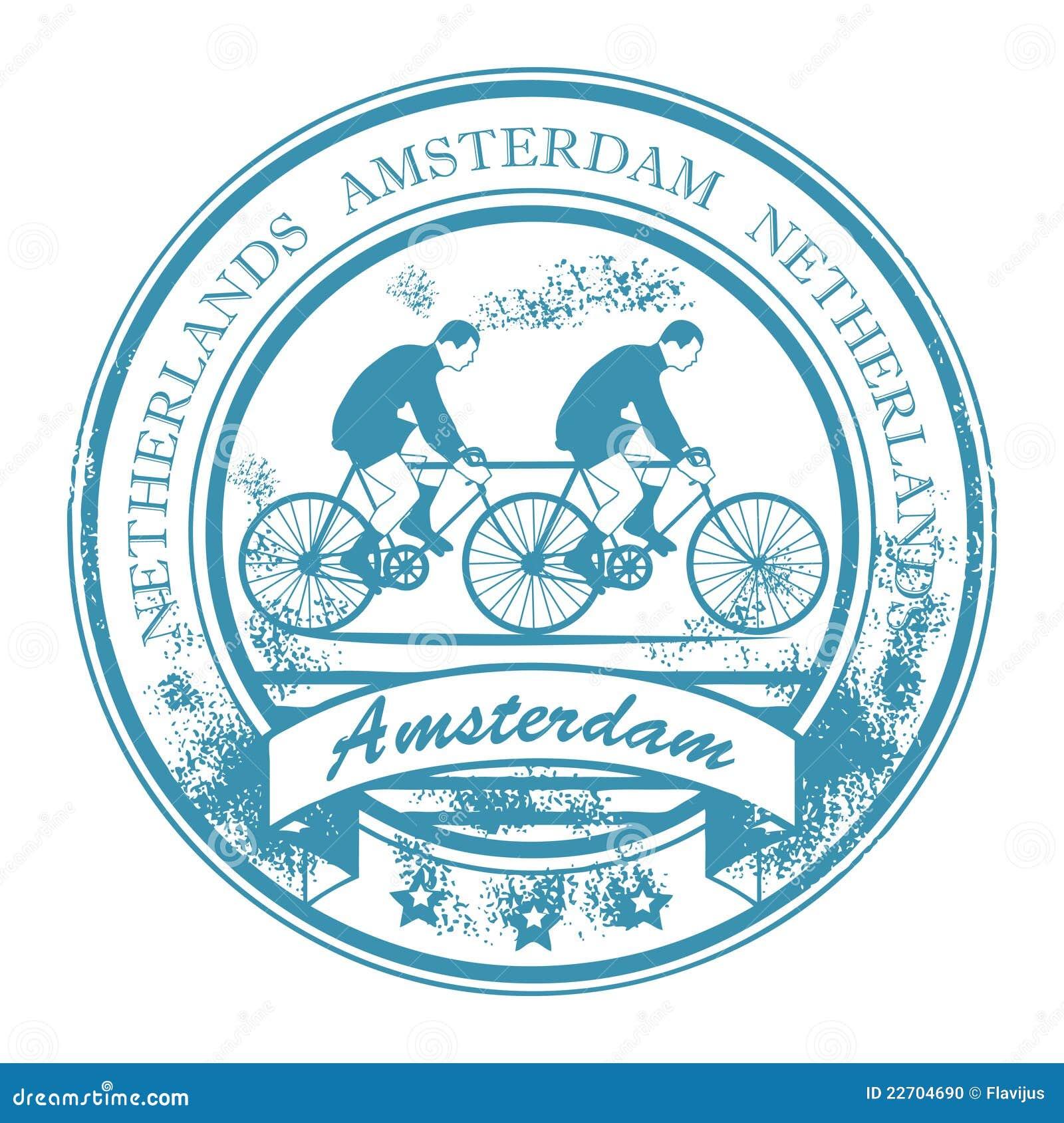 Amsterdam znaczek