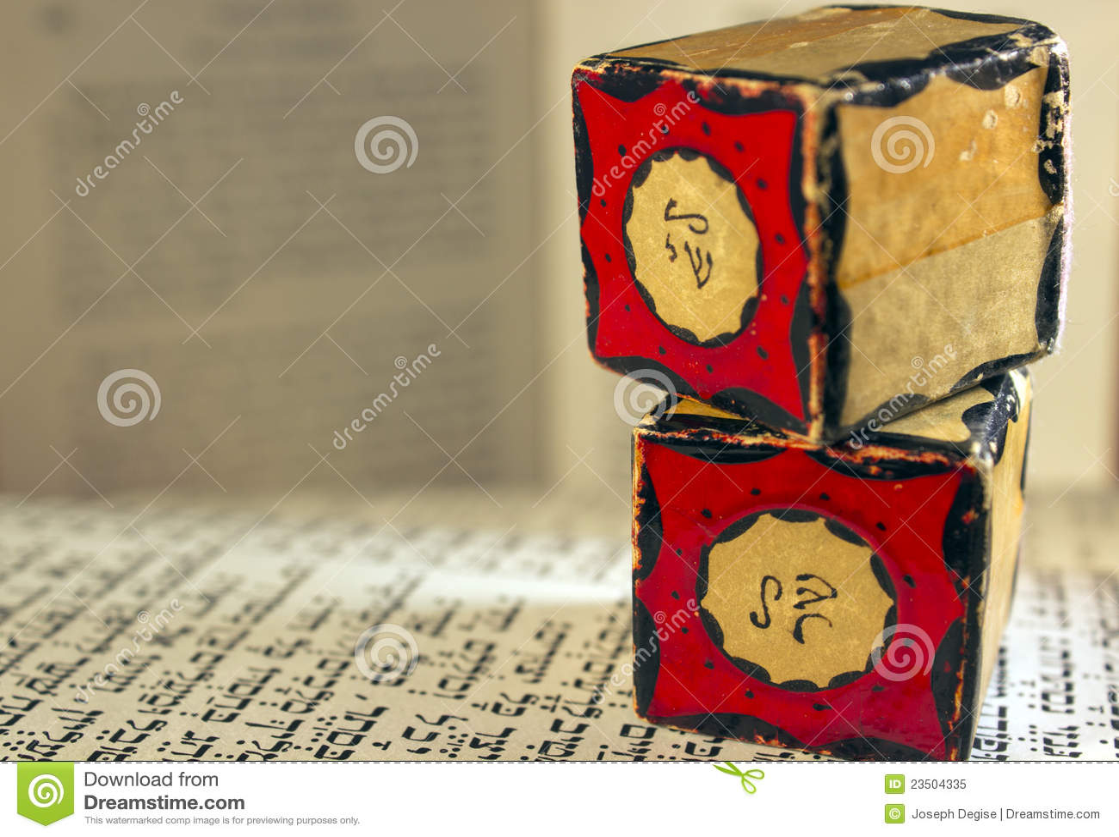 Amulets закрывают tefillin вверх