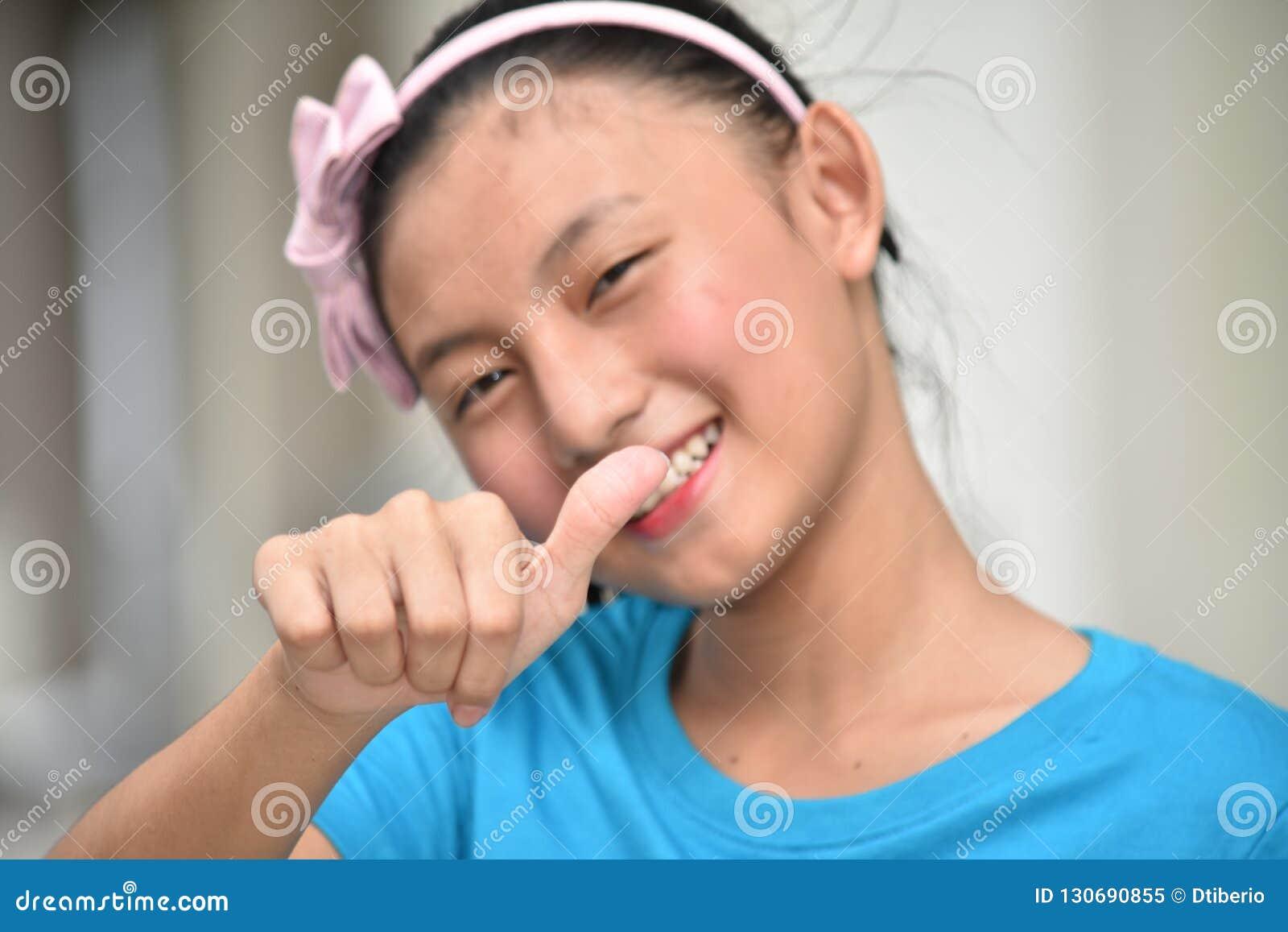 Amusement Filipina Teen Girl jeune